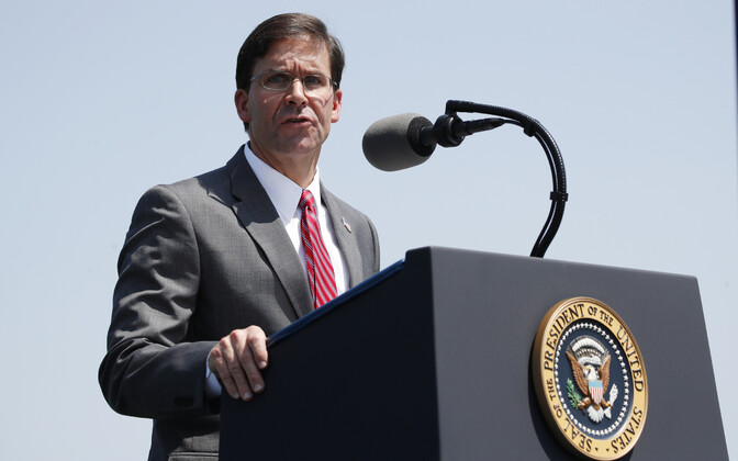 USA kaitseminister Mark Esper.