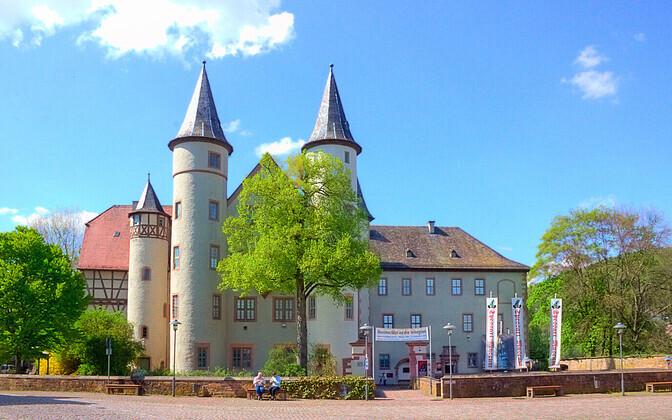 Lumivalgekese väietava prototüübi koduks olnud Lohr am Maini loss.