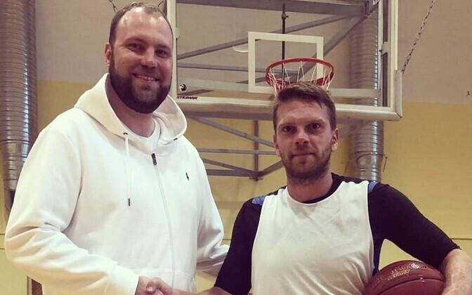 Tanel Sokk lõi käed Tallinna Kalev/TLÜ meeskonnaga.
