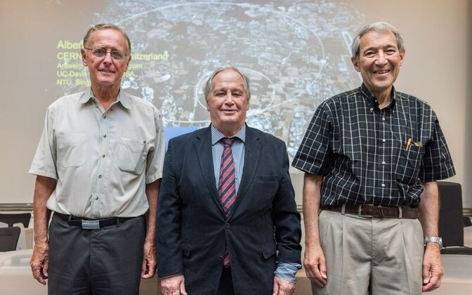 Peter van Nieuwenhuizen (vasakul), Sergio Ferrara ja Dan Freedman 2016. aastal.
