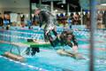 Соревнования офицеров запаса в бассейне
