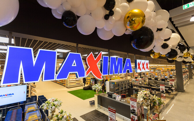 Maxima pood Lätis.
