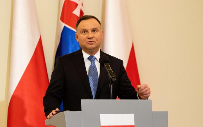 Poola president Andrzej Duda.