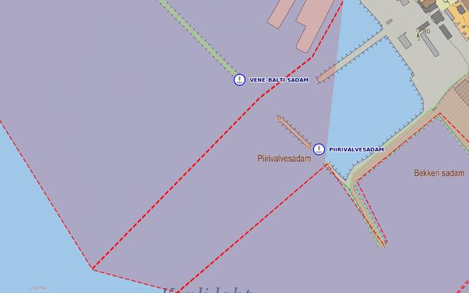 Порт погранохраны в Таллинне.
