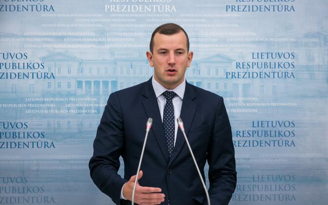 Leedu majandus- ja innovatsiooniminister Virginijus Sinkevicius.