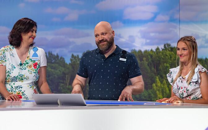 Lisette Tammik, Karmen Joller ja Toomas Luhats