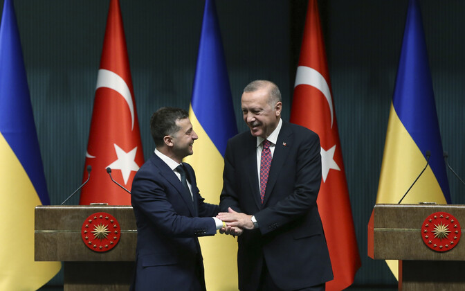 Zelenski ja Erdogan Ankaras.
