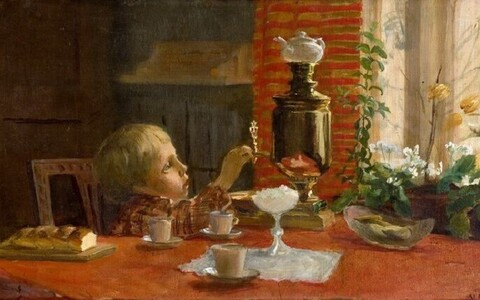 Venny Soldan-Brofeldt (1863–1945) Väike insener. 1898 Õli, lõuend