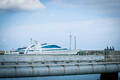 Люксовая яхта Yas в таллиннском порту