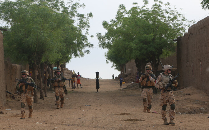 ESTPLA-30 took the leadership of ESTPLA-32 with it on patrol in Gao, Mali.