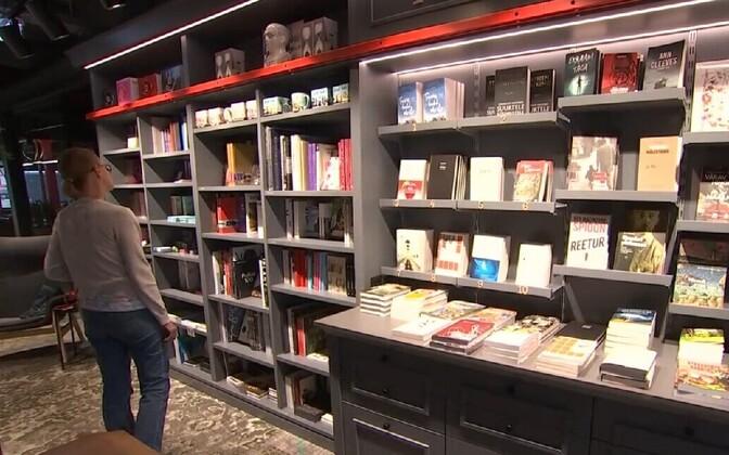 В Эстонии растут продажи бумажных книг.