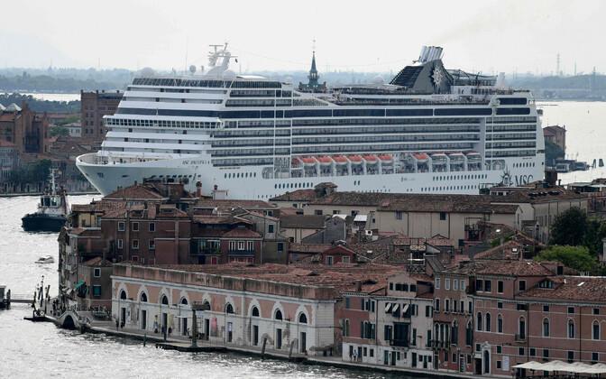 Kruiisilaev MSC Magnifica juunis Veneetsias.