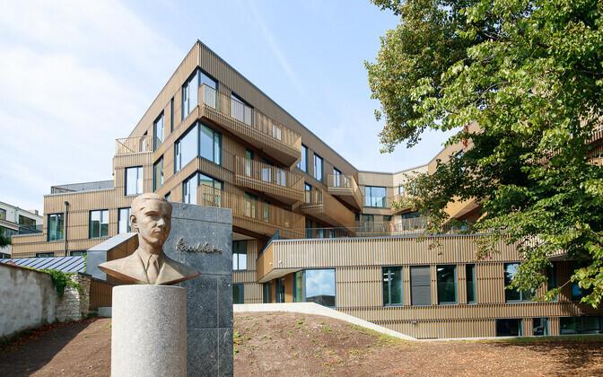 Apartment building in Tallinn.