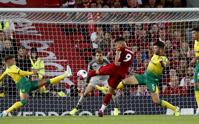 Liverpool alustas Inglismaa kõrgliiga avamängu võidukalt