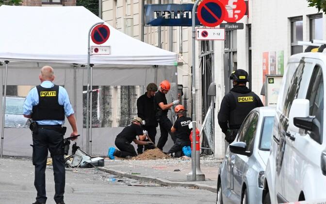Датская полиция считает взрыв преднамеренным нападением.