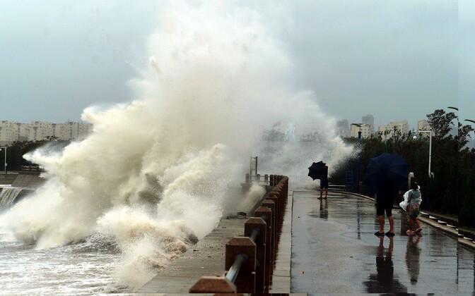 Taifuun Lekima.