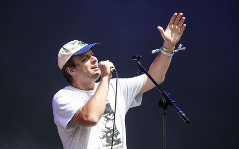 Mac Demarco 2019. aasta Glastonbury festivalil.