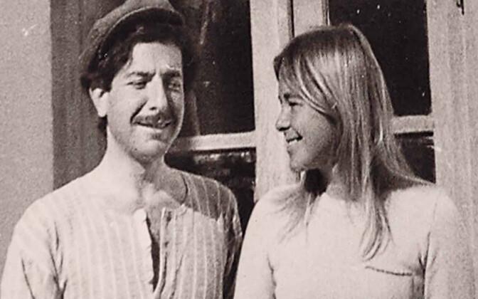 """Kaader filmist """"Marianne ja Leonard. Armastuse sõnad""""."""
