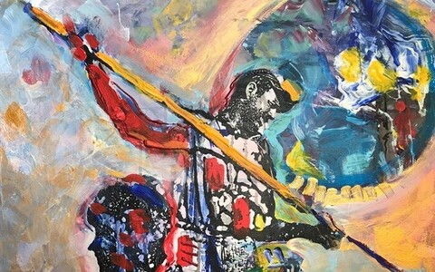 Peter Diemi maalisari Hemingwayst, fragment.