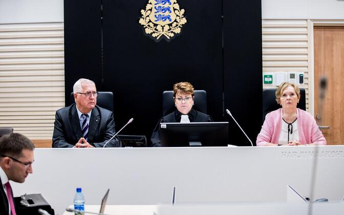 Savisaare protsessi kohtunikud