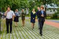 На  открытии центра здоровья в Табасалу присутствовал министр социальных дел Таленль Кийк.