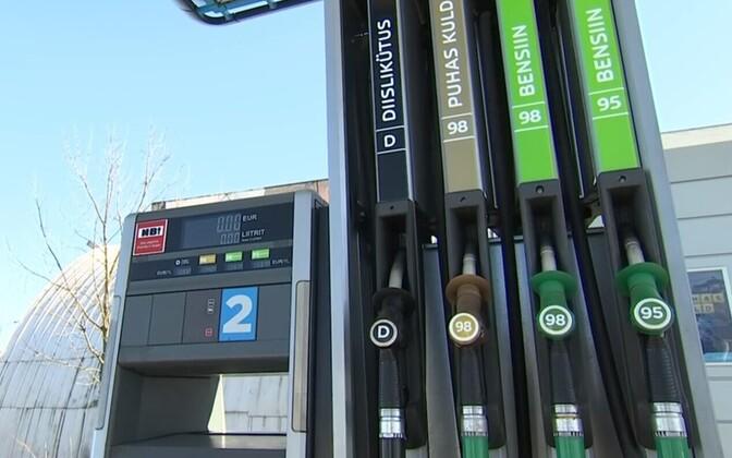 В следующем году процент биотоплива должен вырасти до десяти. Иллюстративная фотография.