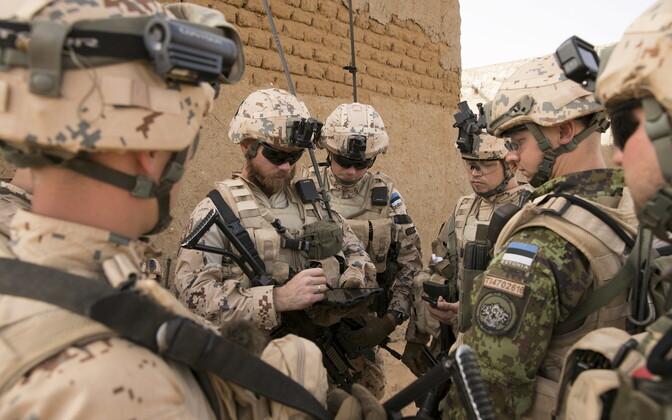Эстонское пехотное подразделение в Мали.