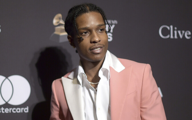 USA räppar Rakim Mayersi, esinejanimega A$AP Rocky.