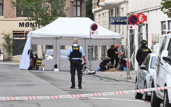 Plahvatus Kopenhaagenis.