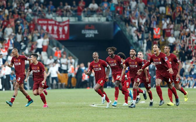 UEFA Superkarikas: Liverpool - Chelsea