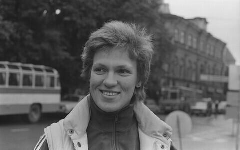 Erika Salumäe 1980. aastatel