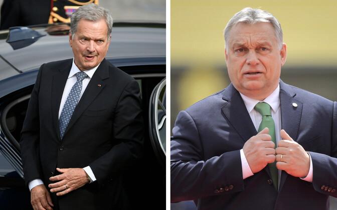 Soome president Sauli Niinistö ja Ungari peaminister Viktor Orban.