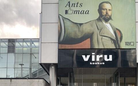 Ants Laikmaa näitus Viru keskuses.