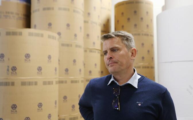 Председатель правления Postimees Grupp  Андрес Кулль.