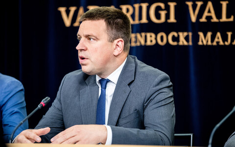 Prime Minister Jüri Ratas (Centre).
