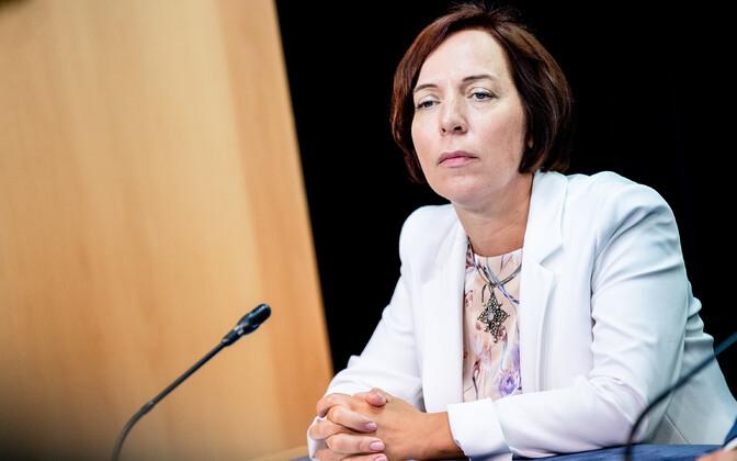 Haridusminister Mailis Reps