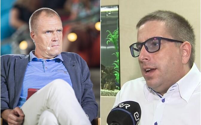 Hardo Pajula ja Peeter Koppel