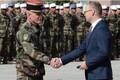 Missioonimedalite andmine Eestis teenivatele Prantsuse sõduritele.