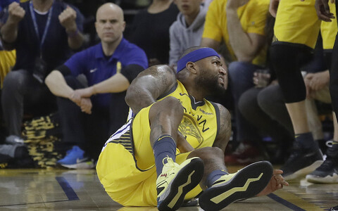 DeMarcus Cousins Golden State Warriorsi särgis