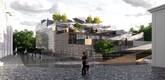 Представленные на конкурс проекты паркинга в Тарту.