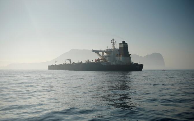 Tanker Grace 1 Gibraltari lähistel.