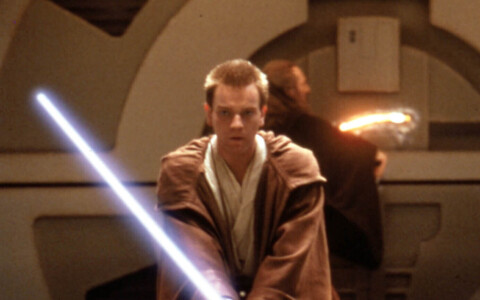 "Ewan McGregor 1999. aasta Star Warsi filmis ""The Phantom Menace""."