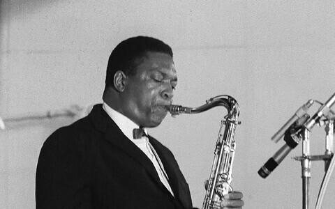 Ameerika saksofonist John Coltrane.