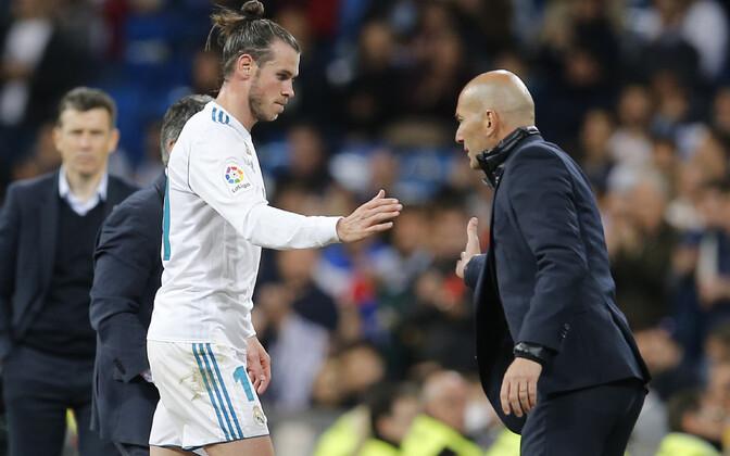 Gareth Bale ja Zinedine Zidane