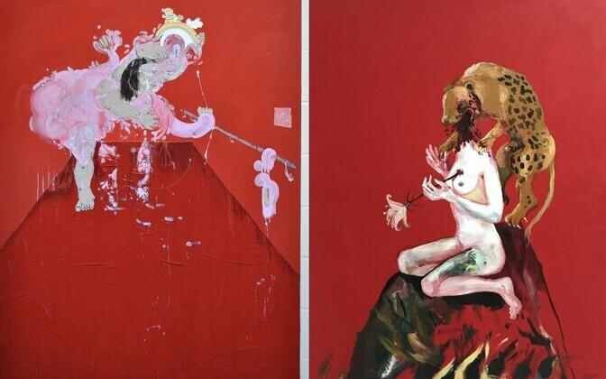 Выставка Кейт Лиддон и Ангелы Маасалу