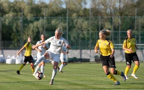 FC Flora - Tuleviku ja Suure-Jaani Unitedi vaheline kohtumine