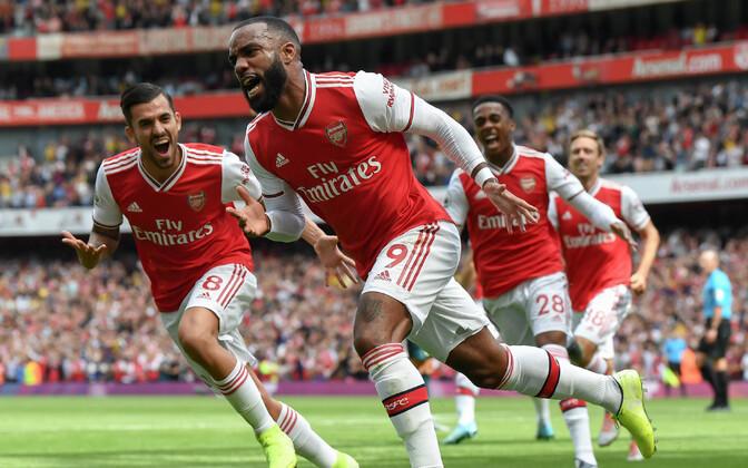 Arsenali avavärava löönud Alexandre Lacazette