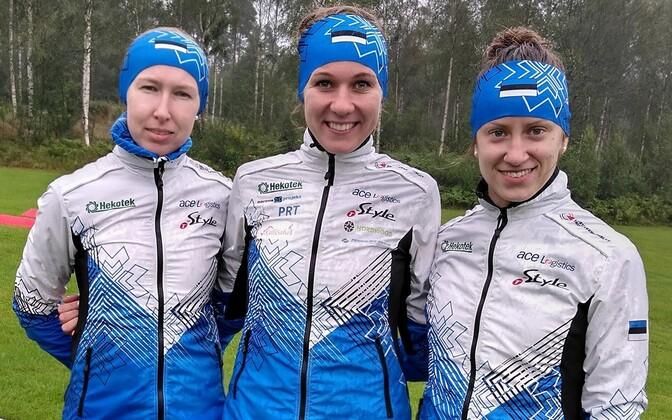 Eesti teatenaiskond. Vasakult paremale: Annika Rihma, Evely Kaasiku, Laura Joonas.