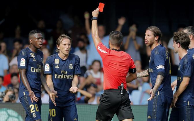 Luka Modrici punane kaart
