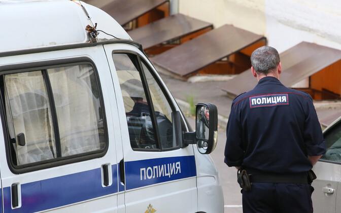 Vene politseinik.